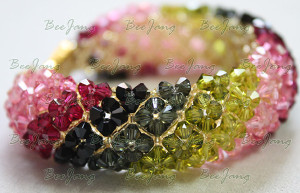 Chic Crystal Bracelet Part 1