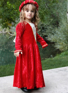 Royal and Red DIY Princess Costume