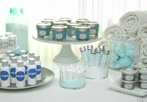 Rejuvenate and Relax DIY Spa Day Bridal Shower