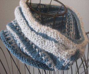 Porcelain Moon Cowl