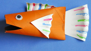 Colorful Fish Paper Craft