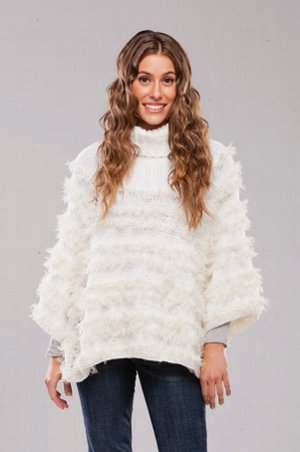 Winter Goddess Poncho
