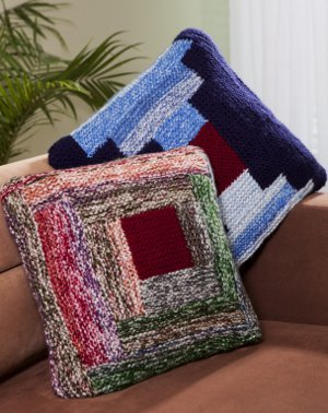 Log Cabin Pillow Pattern