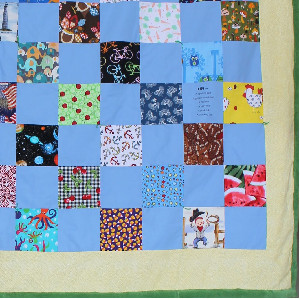 Fuzzy and Fun I-Spy Quilt