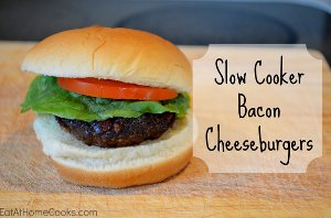 6-Ingredient Bacon Cheeseburgers
