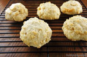 Pumpkin Apple Butter Biscuits