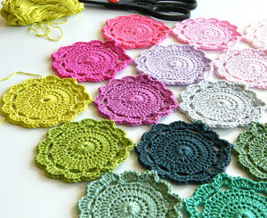 Flower Power Crochet Granny Square