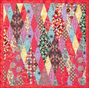 Diamonds Are A Girl S Best Friend Quilt Favequilts Com