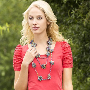 Pocket Full of Posies Necklace