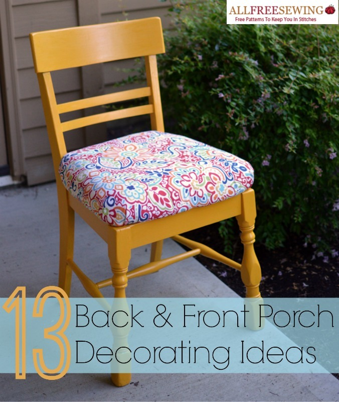 13 Back Porch and Front Porch Decorating Ideas ... on Large Back Porch Ideas id=44792