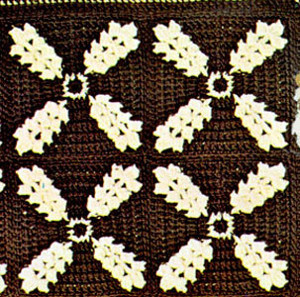 Golden Grains Crochet Afghan Pattern
