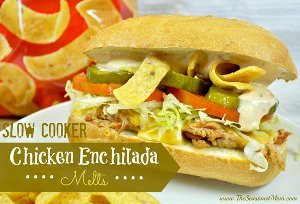 Copycat Subway Chicken Enchilada Melts