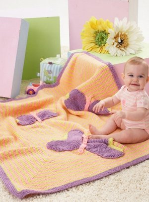 Baby's Butterfly Blanket