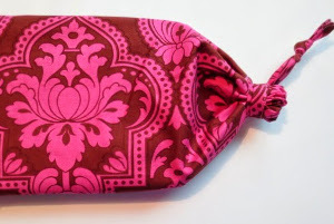 Dainty Drawstring Makeup Bag
