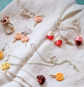 Cute Candy Charm DIY Jewelry