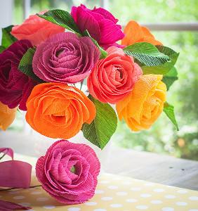 Italian Love Affair Ranunculus Bouquet