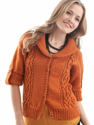 Autumn Twist Cardigan