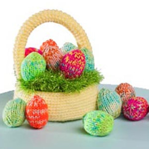 Pretty Pastel Easter Basket