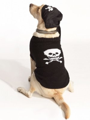 Pirate Dog Sweater Pattern