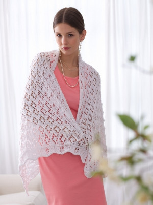 Diamonds Sparkle Shawl