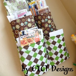 Fancy DIY Mail Organizer