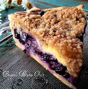 Summer Blueberry Cream Pie