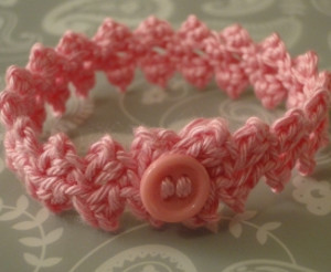 Braided Button Bracelet