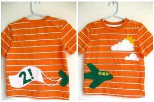 Up, Up, and Away Airplane T-Shirt