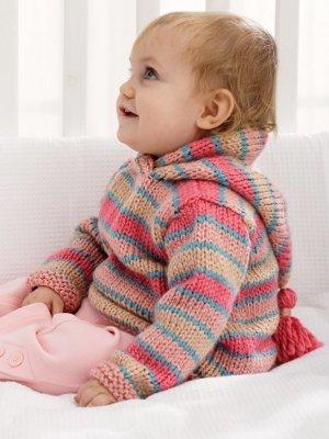288286f3e5cd 20 Super Cute Knit Baby Sweater Patterns