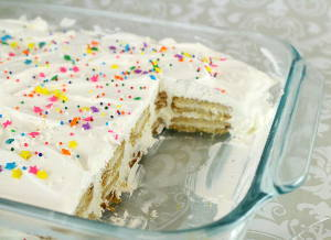 Birthday Icebox Cake