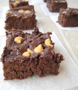 Secret-Ingredient Flourless Chocolate Brownies