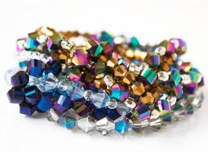 Stunningly Sparkly DIY Bracelets