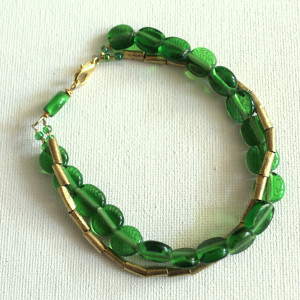 How to Make a Double Strand Bracelet