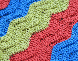 Color Basics Ripple Crochet Pattern