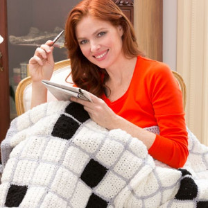 Crossword Puzzle Throw