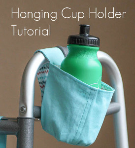 Portable Hanging Cup Holder Allfreesewing Com