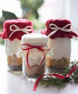 Holiday Gift Jar Toppers