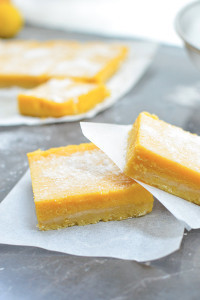 Scrumptious Mango Lemon Bars
