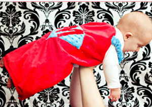 2-in-1 Superhero Cape Blanket