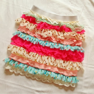 DIY Ruffle Skirt