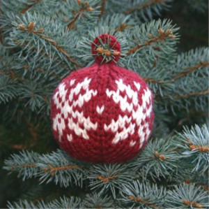 Two Strands Christmas Ball