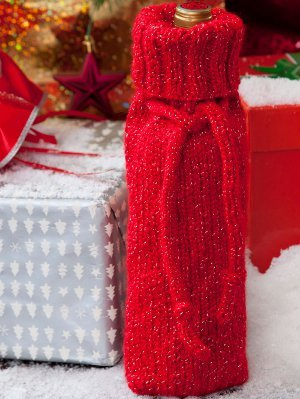 Sparkly Holiday Wine Sweater Allfreeknitting Com