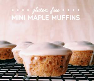 Mini Maple Muffins