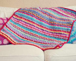 The Vintage Crochet Groovy-ghan