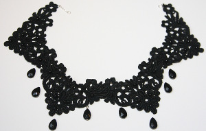 Dark as Night Necklace