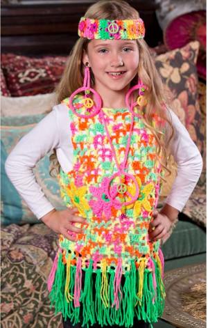 Crochet Hippie Dress