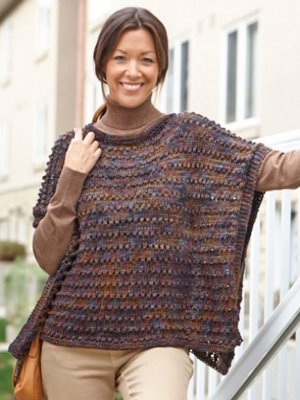 Soft and Sophisticated Poncho