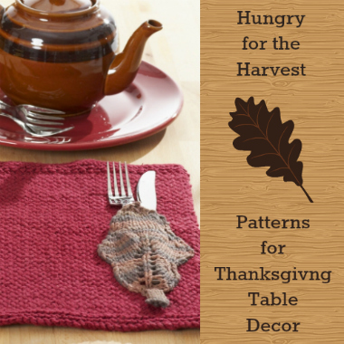 Hungry for the Harvest 20 Patterns for Thanksgiving Table Decor