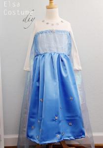 Upcycler's Dream DIY Elsa Dress