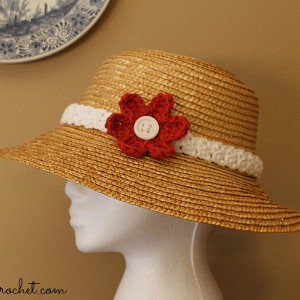 Pretty Woman Hat Band